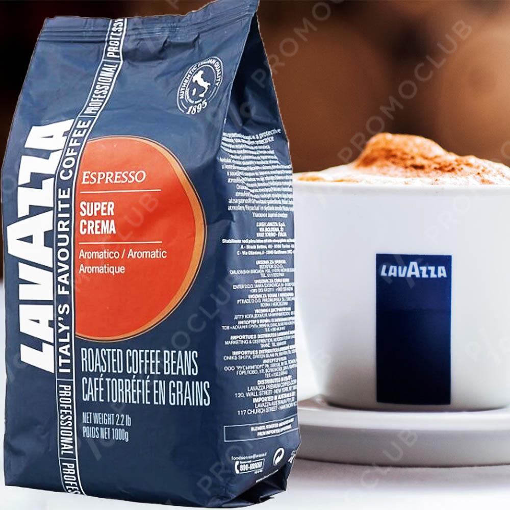 НОВО: LAVAZZA SUPER CREMA, кафе на зърна, 1 кг