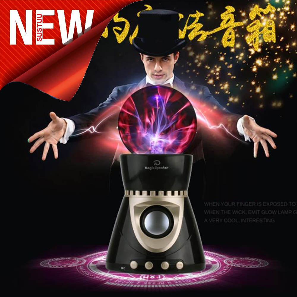 Плазмена блутудна тонколона с цветомузикална функция MAGIC SPEAKER KP8000 BLACK
