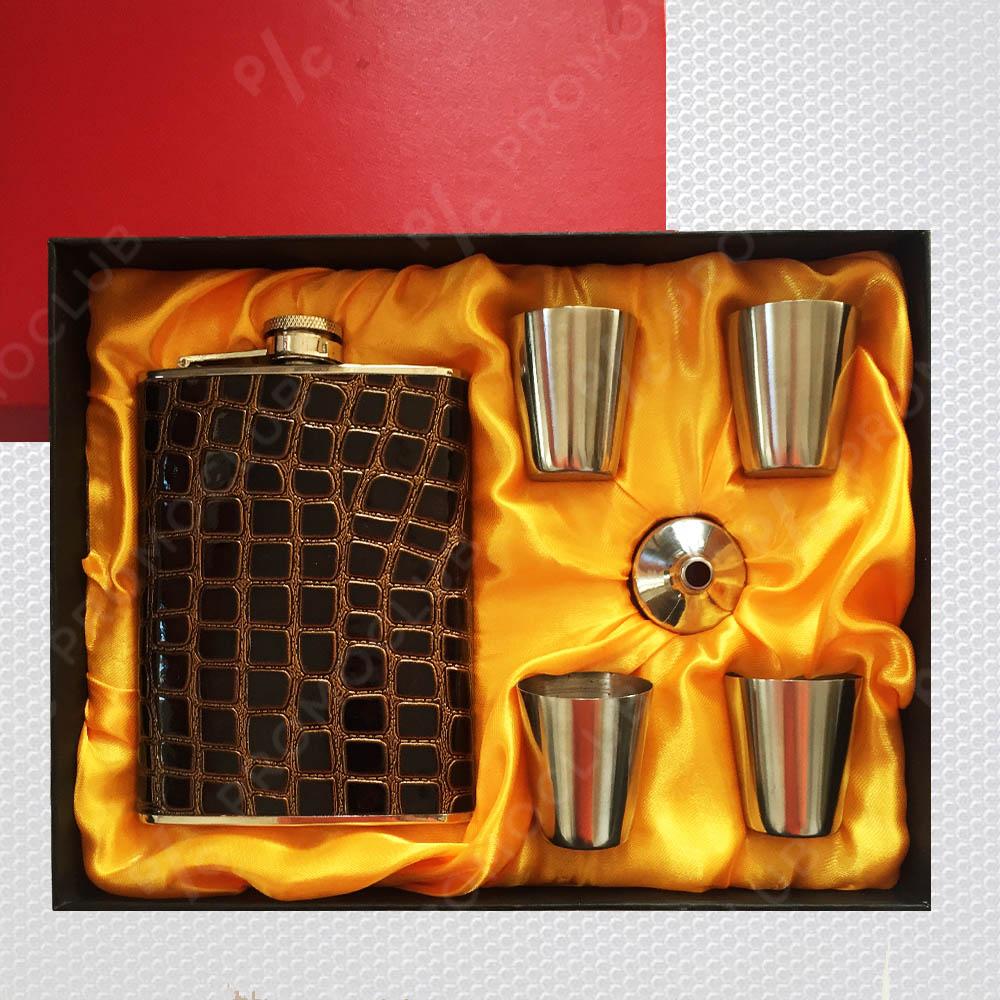 Ювелирен подаръчен комплект YH1 TOUGH MEN, неръждаема стомана, лукс пак