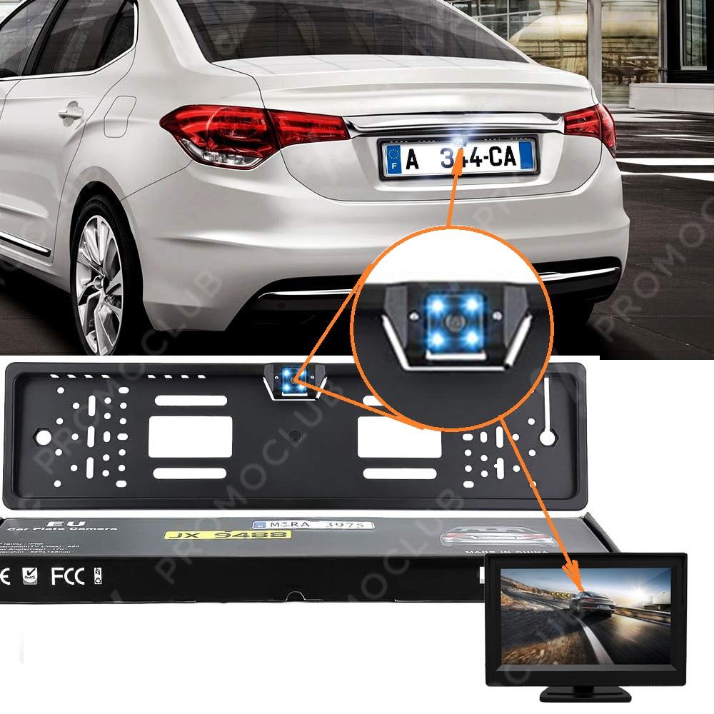 РЕВОЛЮЦИЯ: всяка кола с камера за заден ход в регистрационния номер, без пробиване