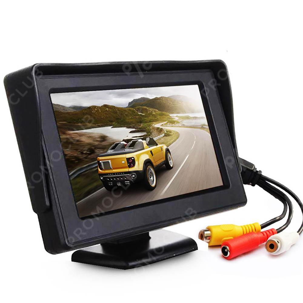 TFT авто дисплей за камера за заден ход, 4.3 инча