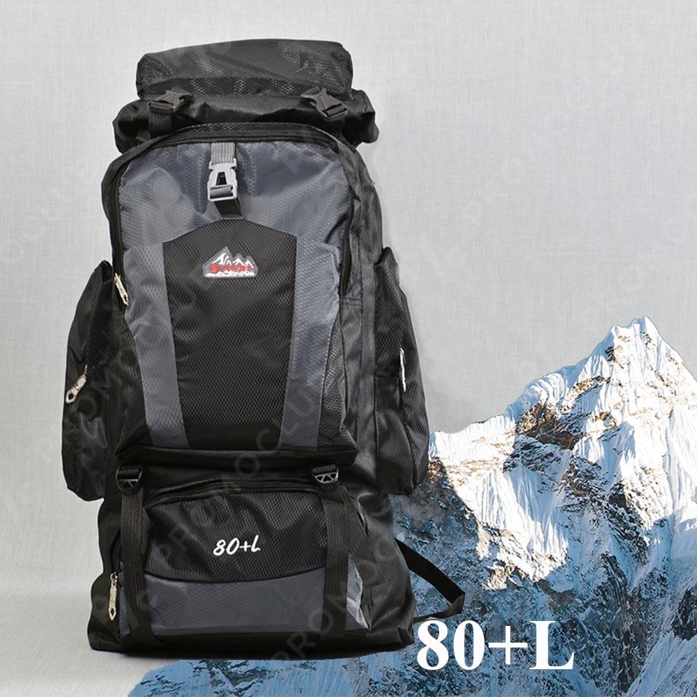 ТОП: Голяма 80-Литрова Туристическа Раница 80L+ 21193 BLACK