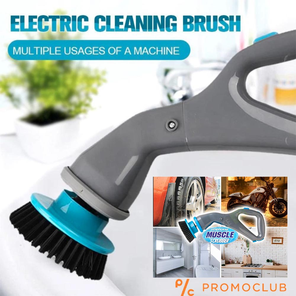 Акумулаторна четка с 3 глави MUSCLE SCRUBBER