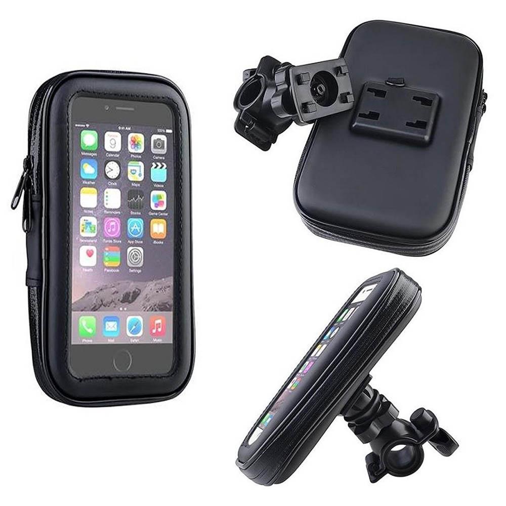 Водоустойчива вело супер стойка за телефон до 6.5 инча GP2381