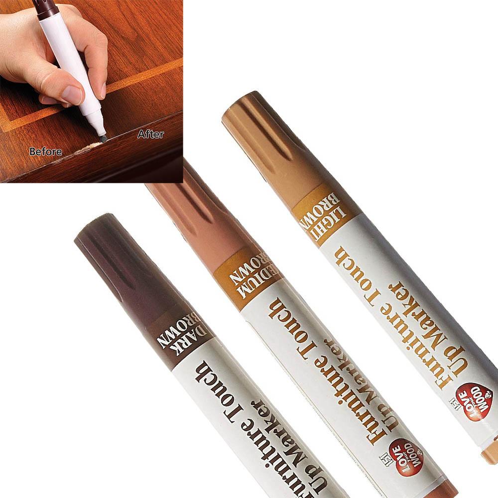 3 маркера за корекция на дефекти по дърво, моментални, универсални, 3 х 2.5 мл