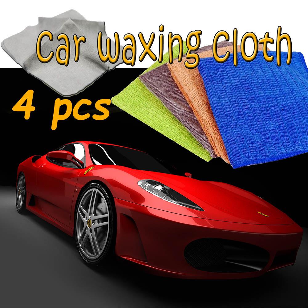 4 различни специализирани микрофибърни авто кърпи ATR MC-404, за дома и колата