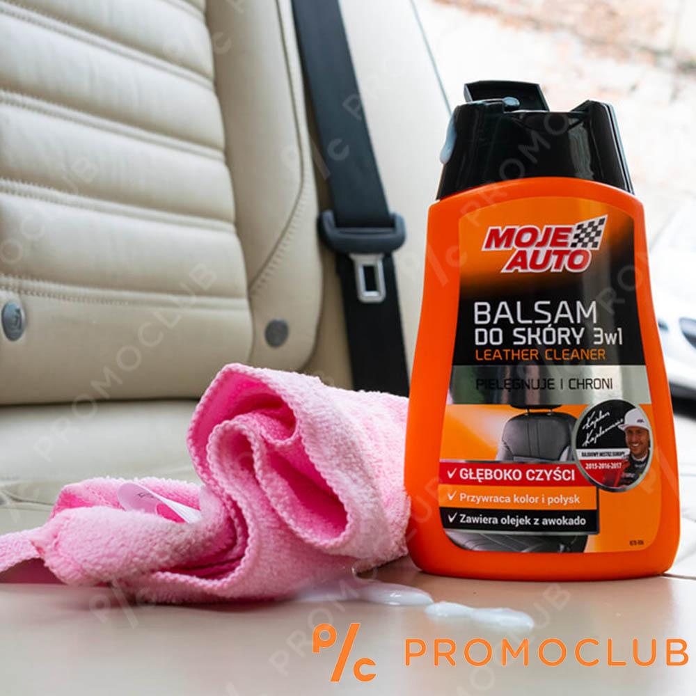 Балсам за почистване на кожа, поддръжка на тапицерии MOJE AUTO BALSAM, ТОП клас 250 мл