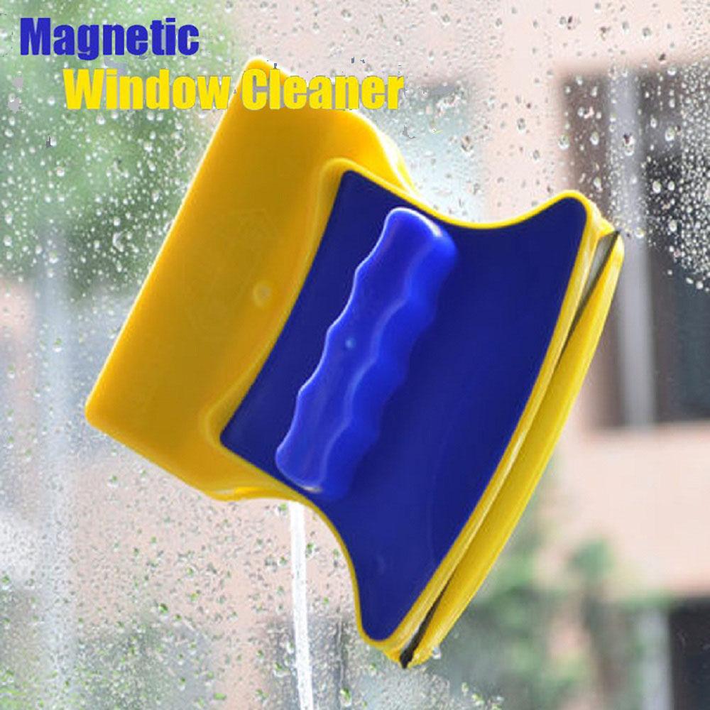 BF SALE: Двустранна магнитна чистачка за труднодостъпни прозорци DOUBLE MAGIC CLEANER