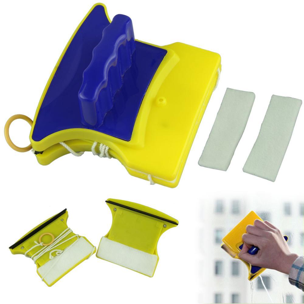 РАЗПРОДАЖБА: Двустранна магнитна чистачка за труднодостъпни прозорци DOUBLE MAGIC CLEANER