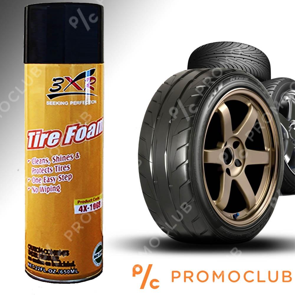 Пяна за гуми 3XR 650 ml., връща блясъка, чисти, подновява, пази и удължава живота