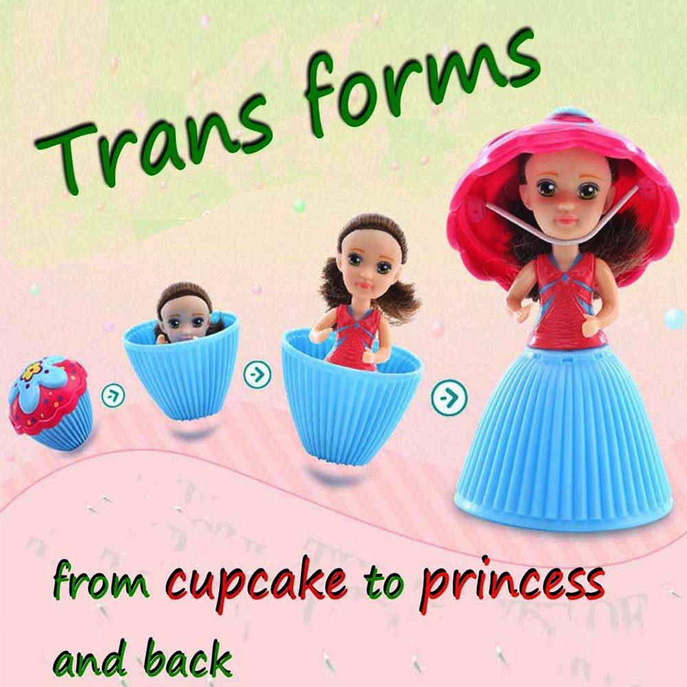 Ароматизирани кукли - кексчета TRANSFORMERS CUP CAKES DOLLS, с по един аксесоар