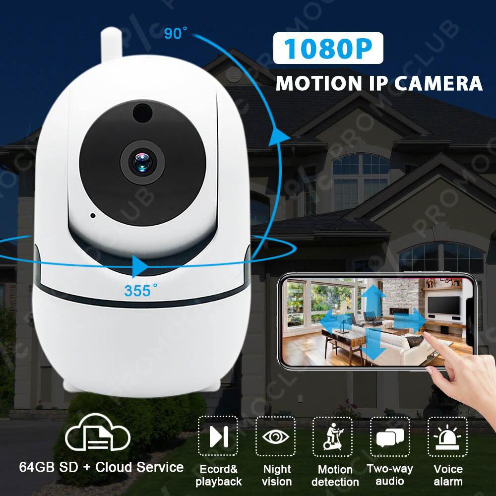 IP камера R2D2 5MPx в мини размер, WiFi до 64GB памет Y4A-ZA и всички екстри за класа