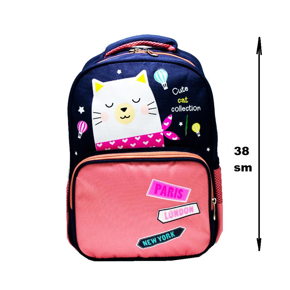 Висок клас детска раница 8029 KITTY on PINK, 38 см
