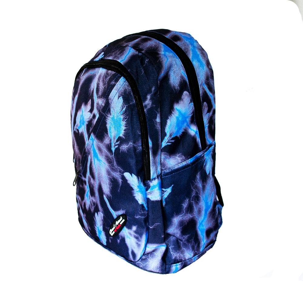 Голяма лека ученическа раница GA20323 BLUE THUNDER, 47 см