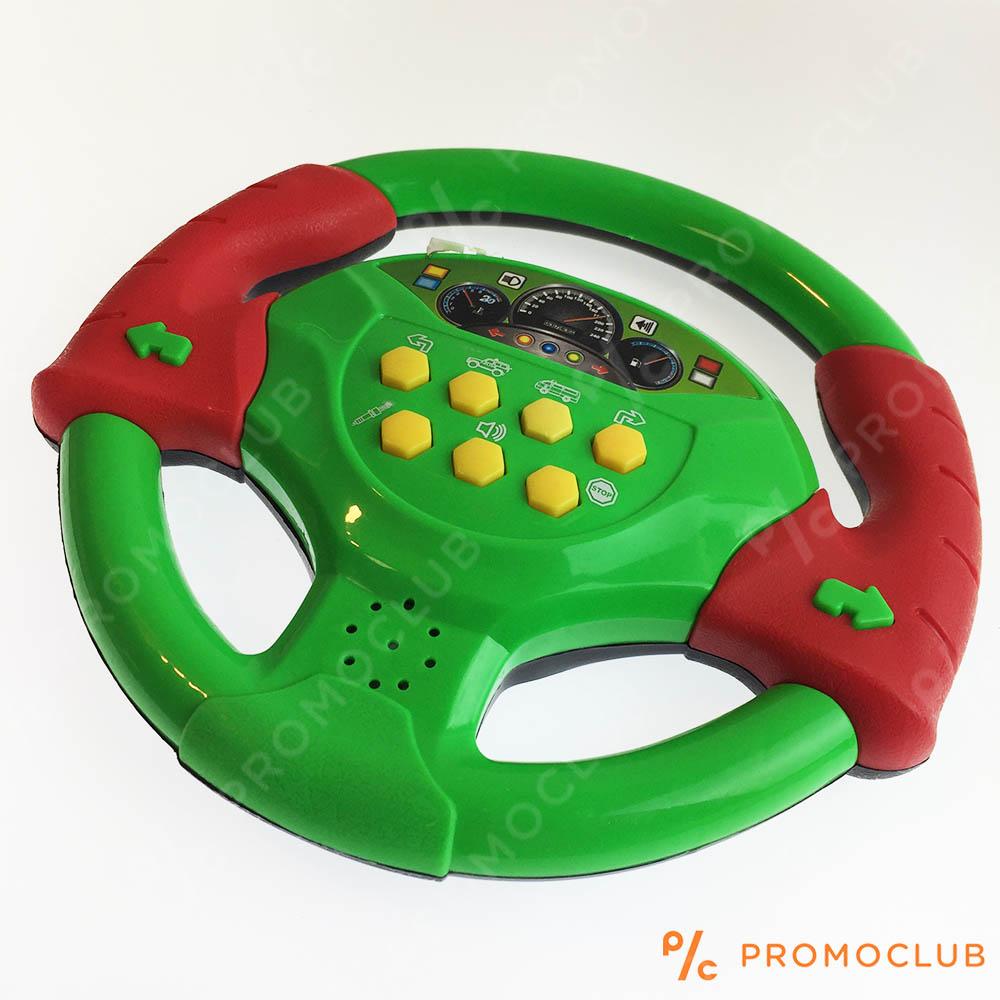Голям зелен музикален волан  SPORT NEW с 8 режима на звука, 6м.+