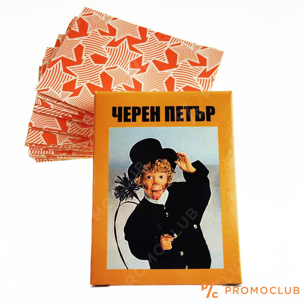 Карти за игра ЧЕРЕН ПЕТЪР, 3+
