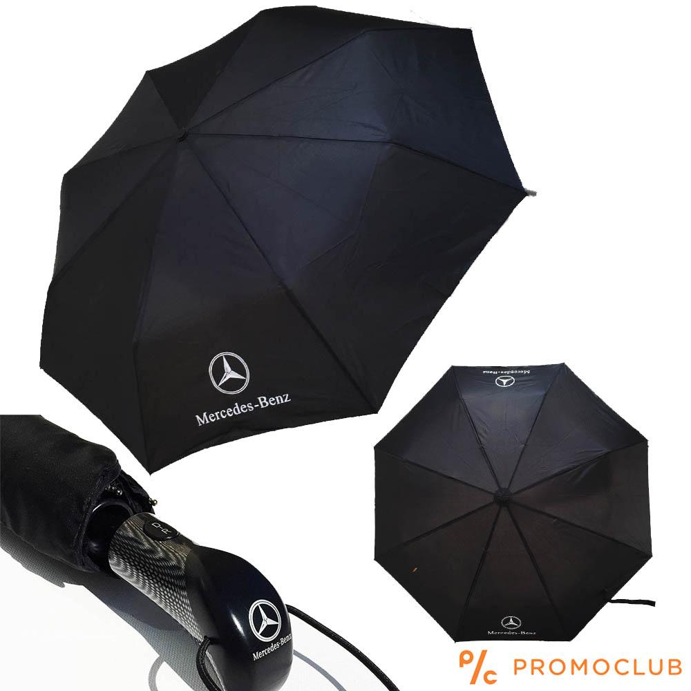 MERCEDESS чадър с карбонова дръжка, пълен автомат - само за ценители