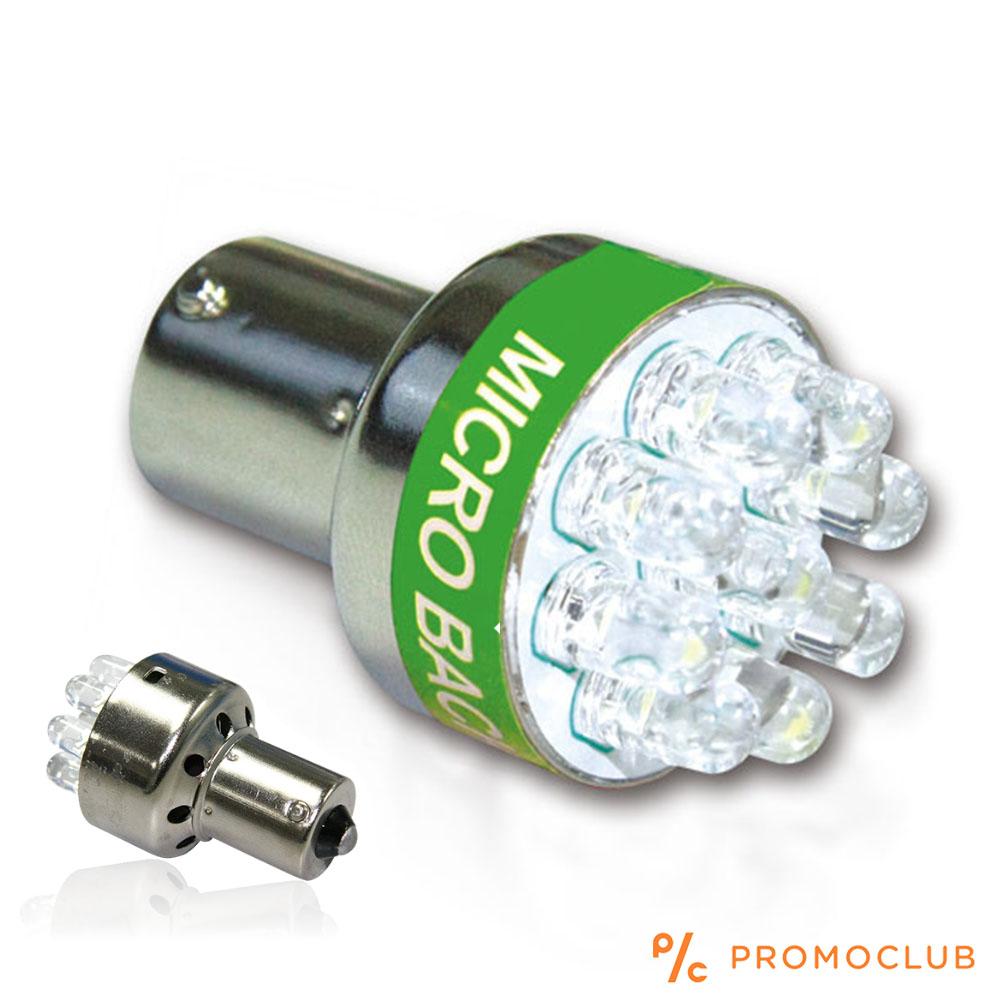 Уникална авто LED крушка с вграден звуков сигнал при движение на заден ход