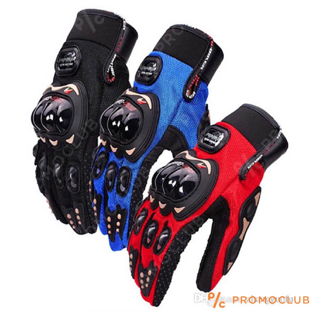 Летни вентилирани мото ръкавици PRO-BIKER MCS-01C RED, размери M, L, XL, 2XL