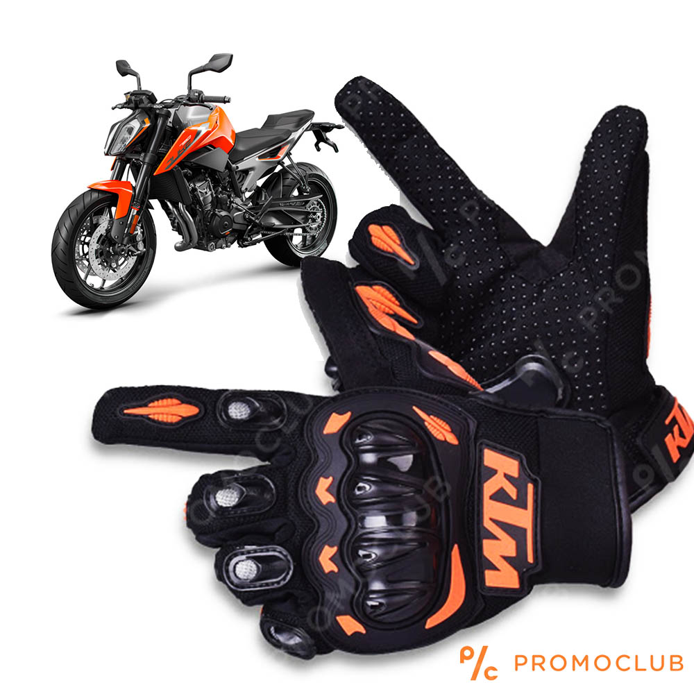 Мото ръкавици KTM BLACK-ORANGE  - M, L, XL
