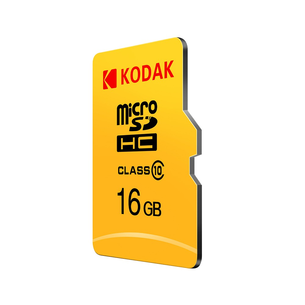 Micro SD карта памет KODAK 16 GB CLASS 10 на четене и запис, с преходник