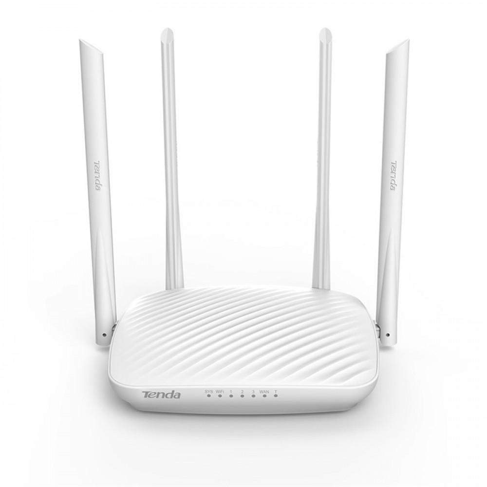 Супер бърз WiFi рутер TENDA F9 600 MBPs с 4 антени, висока скорост, разширен обхват