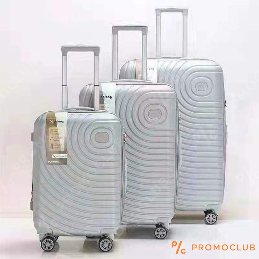 Най-висок клас спинъри DL DELONG Silver, 3 броя, ABS пластмасa