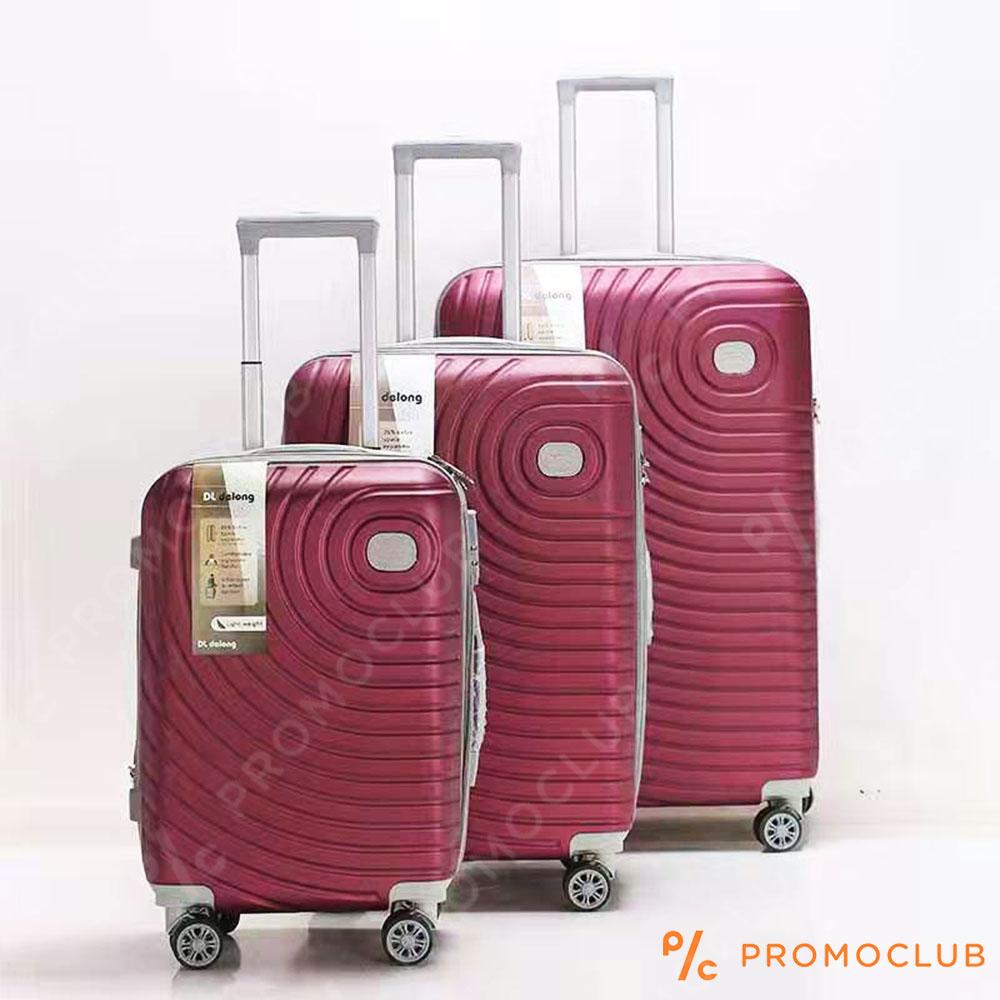 Най-висок клас спинъри DL DELONG Red, 3 броя, ABS пластмасa