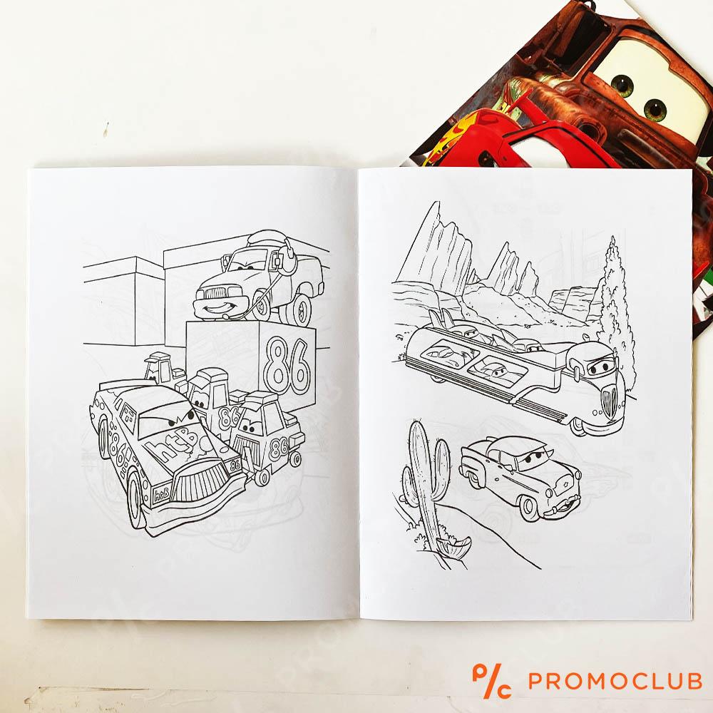 Книжка за оцветяване КОЛИТЕ, множество страници и десетки стикери-лепенки