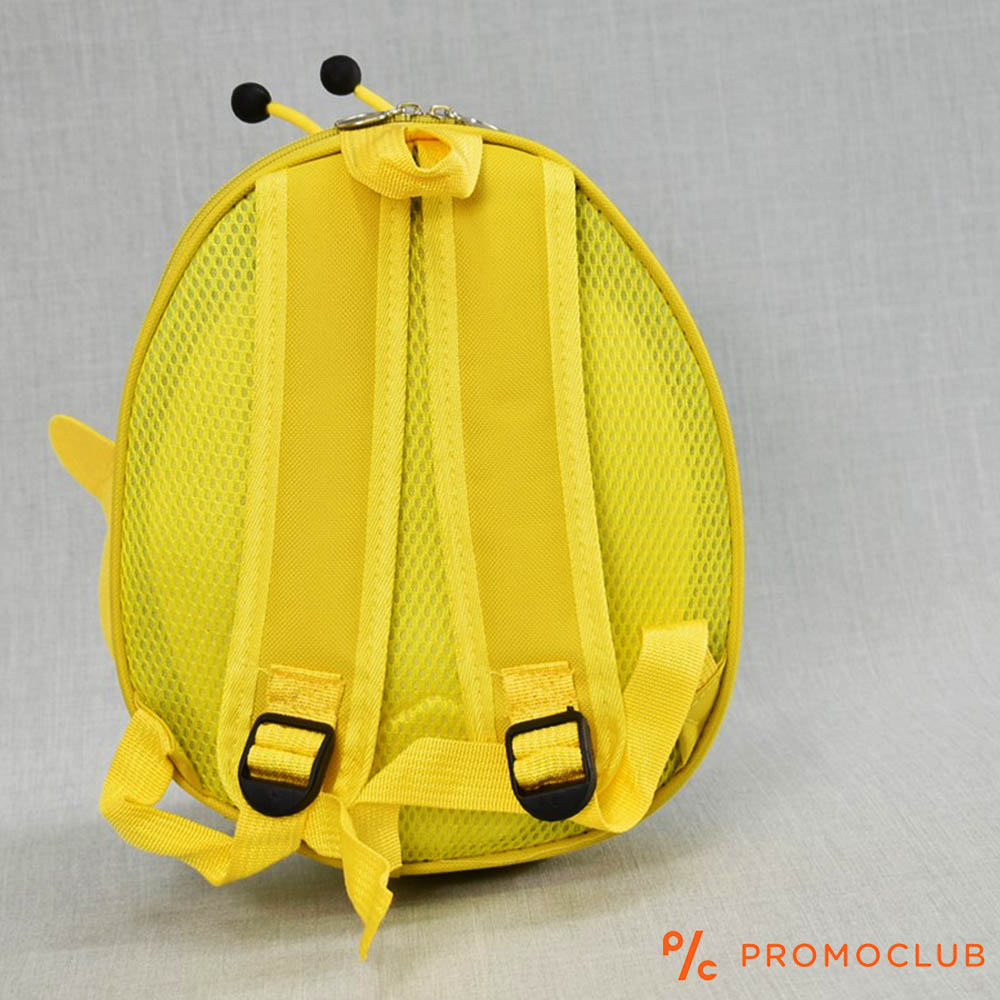 Детска раница ЖЪЛТА ПЧЕЛА  12809 YELLOW BEE, полутвърда