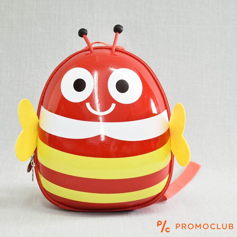 Детска раница ЧЕРВЕНА ПЧЕЛА 12809 RED BEE, полутвърда