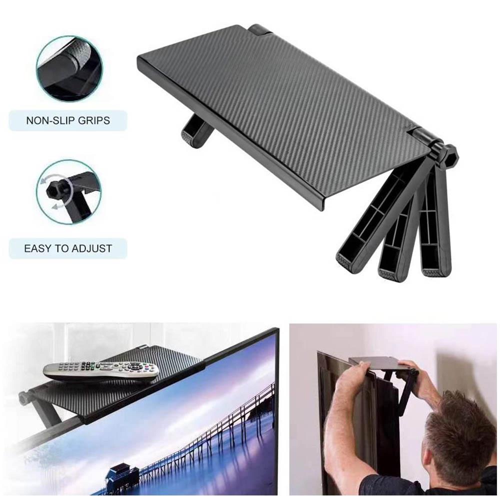 Иновативна поставка- рафче върху всеки монитор, TV SCREEN TOP SHELF