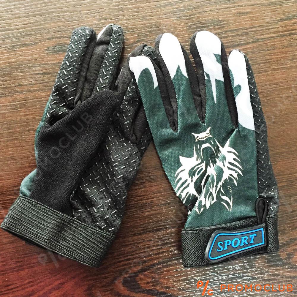 Детски вело-мото ТОП ръкавици WOLF SPORT CLUB  DARK GREY,  4-10 г,