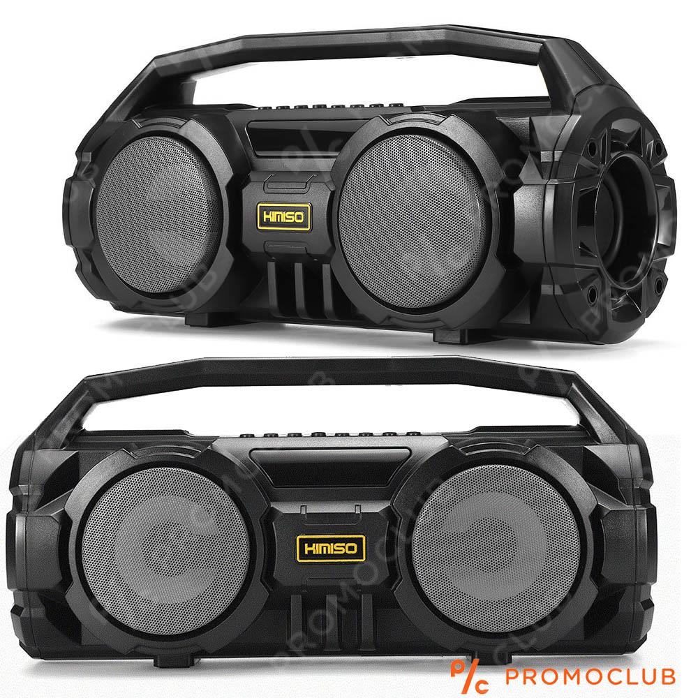 Мощно двойно караоке  KIMISO KM-S1 с микрофон, Блутут, MP3, 10W RMS