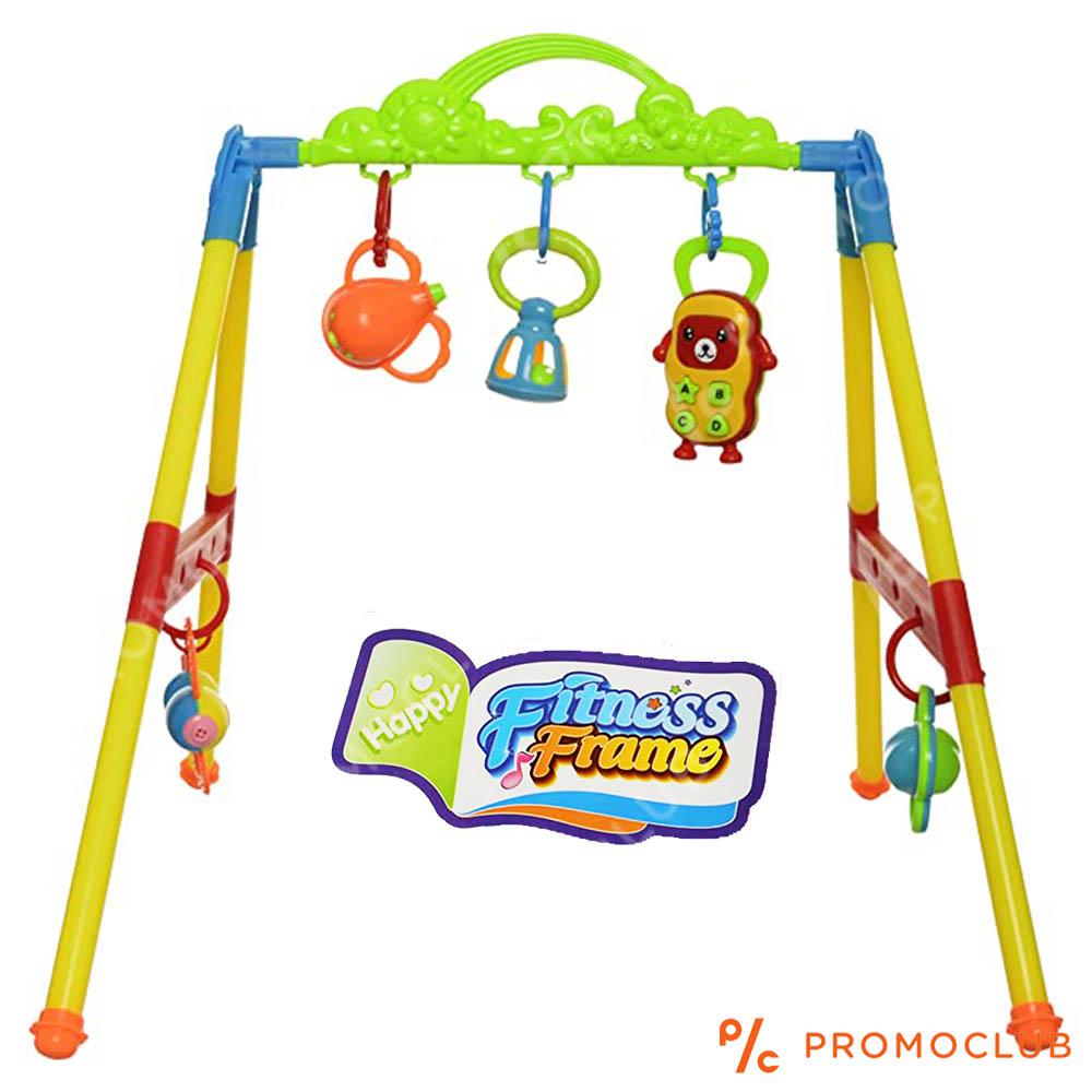 Активна детска гимнастика FITNESS FRAME за бебета 3м+