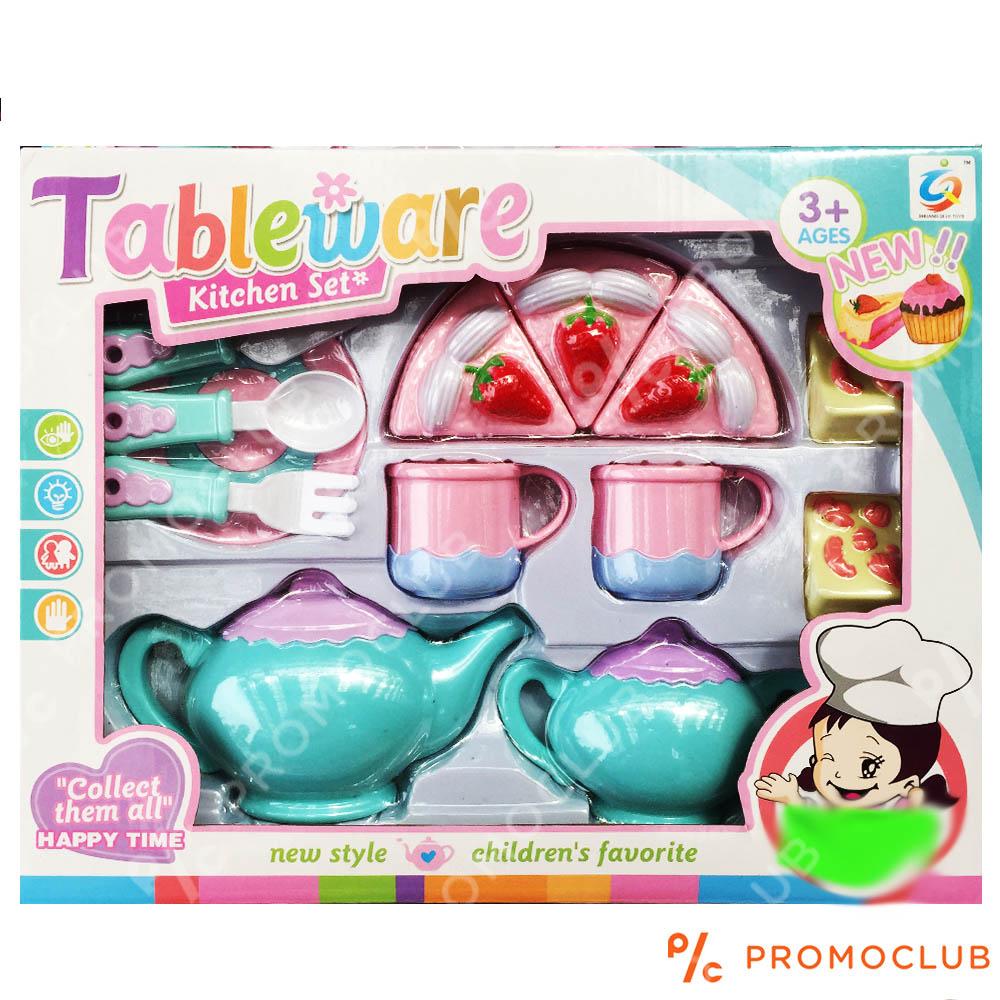 Луксозен детски парти сет за хранене, играчка, 3+