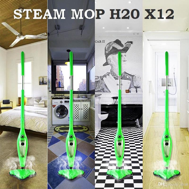 Нов модел парочистачка Steam Mop X12 - 12 в 1 уреда за съвършена чистота