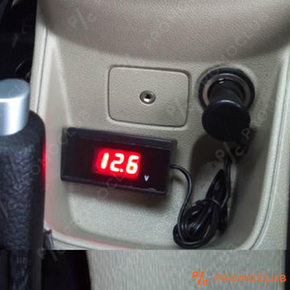 Статичен авто волтмерър Dr.Car VOLTAGE: следи за качественото напрежение и амумулатор