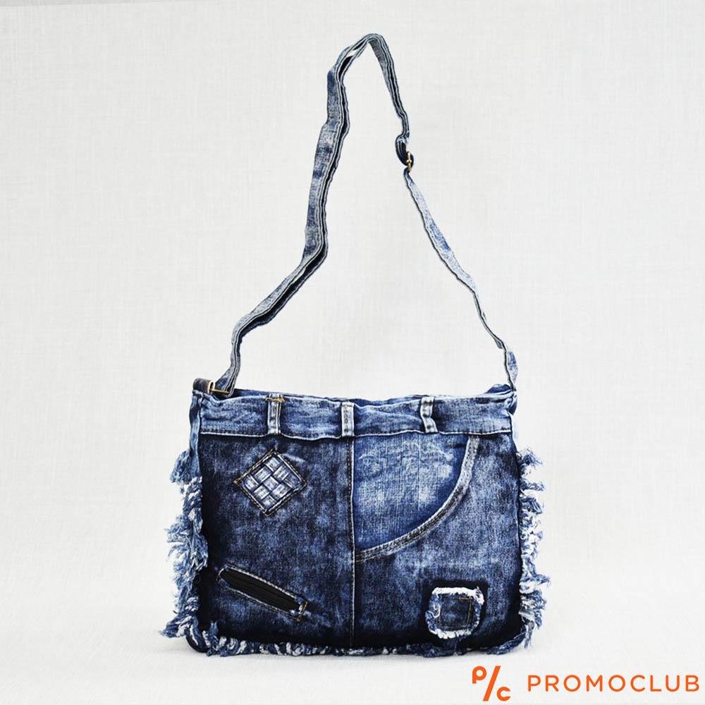 Denim Jeans BAG  11364-15 FRONT SKIRT - дамска чанта за през рамо
