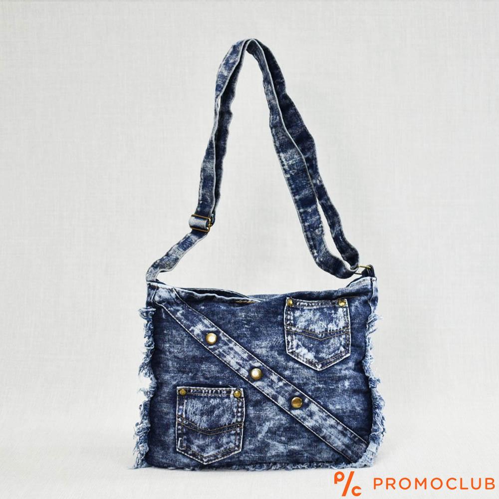 Denim Jeans BAG  11364-9 ОPOSIT POCKETS - дамска чанта за през рамо