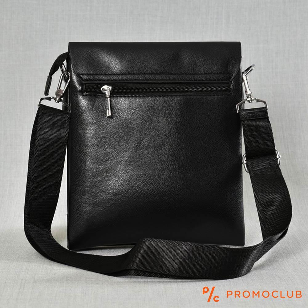 Луксозна мъжка чанта MAN A PART 1802-3 за през рамо, еко кожа
