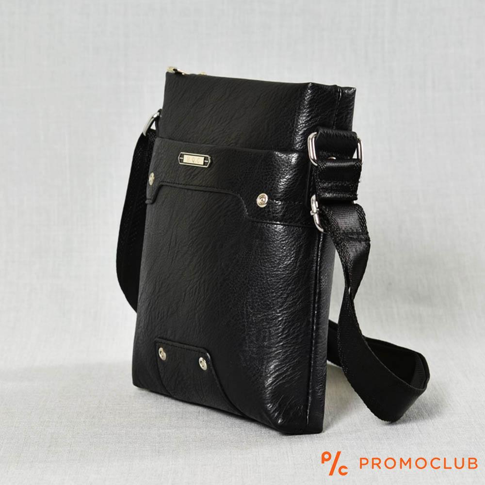 РАЗПРОДАЖБА: мъжка кожена чанта HQC 3608 за през рамо, еко кожа