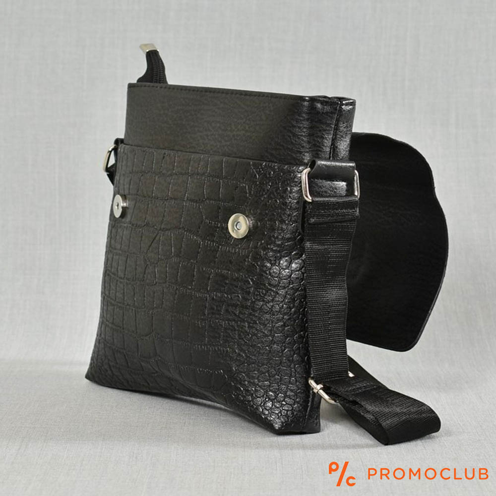 РАЗПРОДАЖБА: мъжка кожена чанта DUNDEE 525 за през рамо, еко кожа
