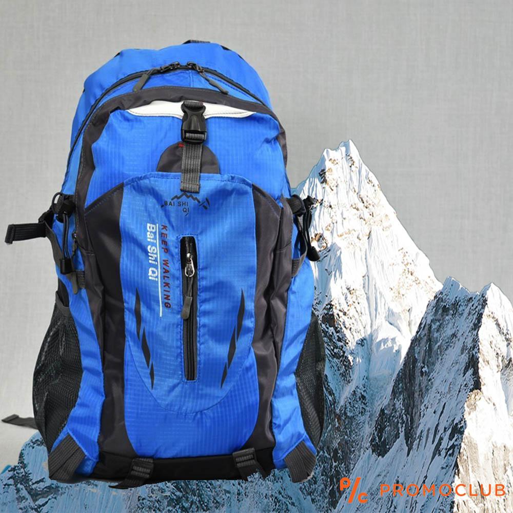 Туристическа раница 27L BAI SHI 32006 BLUE, с всички екстри, среден размер 50 см.