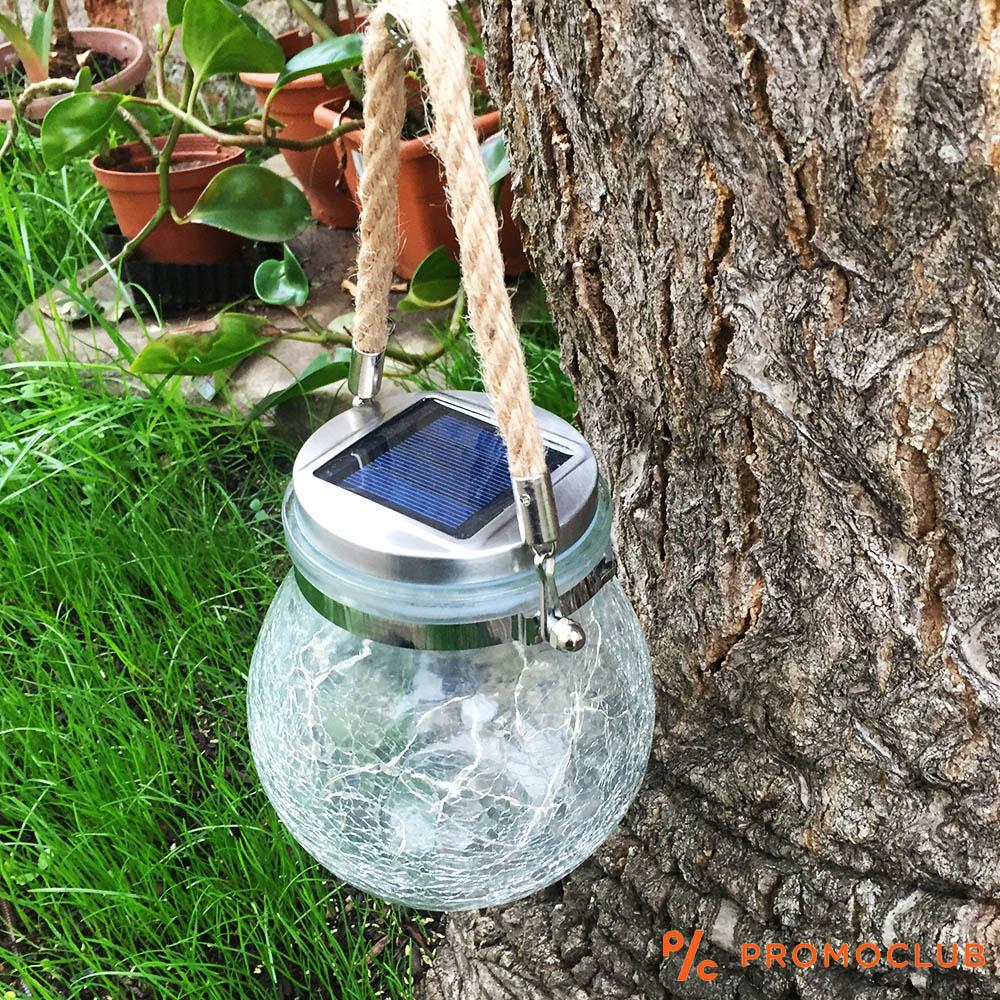 Невероятен соларен LED буркан - фенер за градини, навеси и шатри
