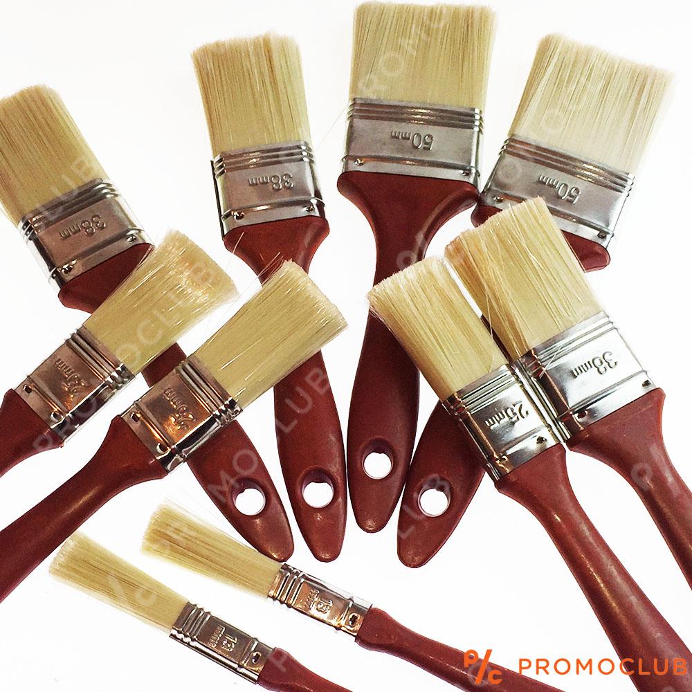 10 броя четки за боядисване - дебел и стабилен сноп за качествено нанасяне, разни размери