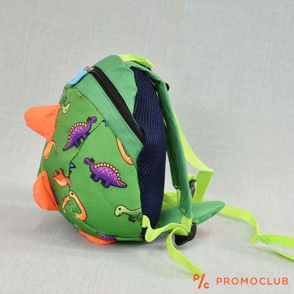 3D детска раница 22101 СИН КРОКОДИЛ