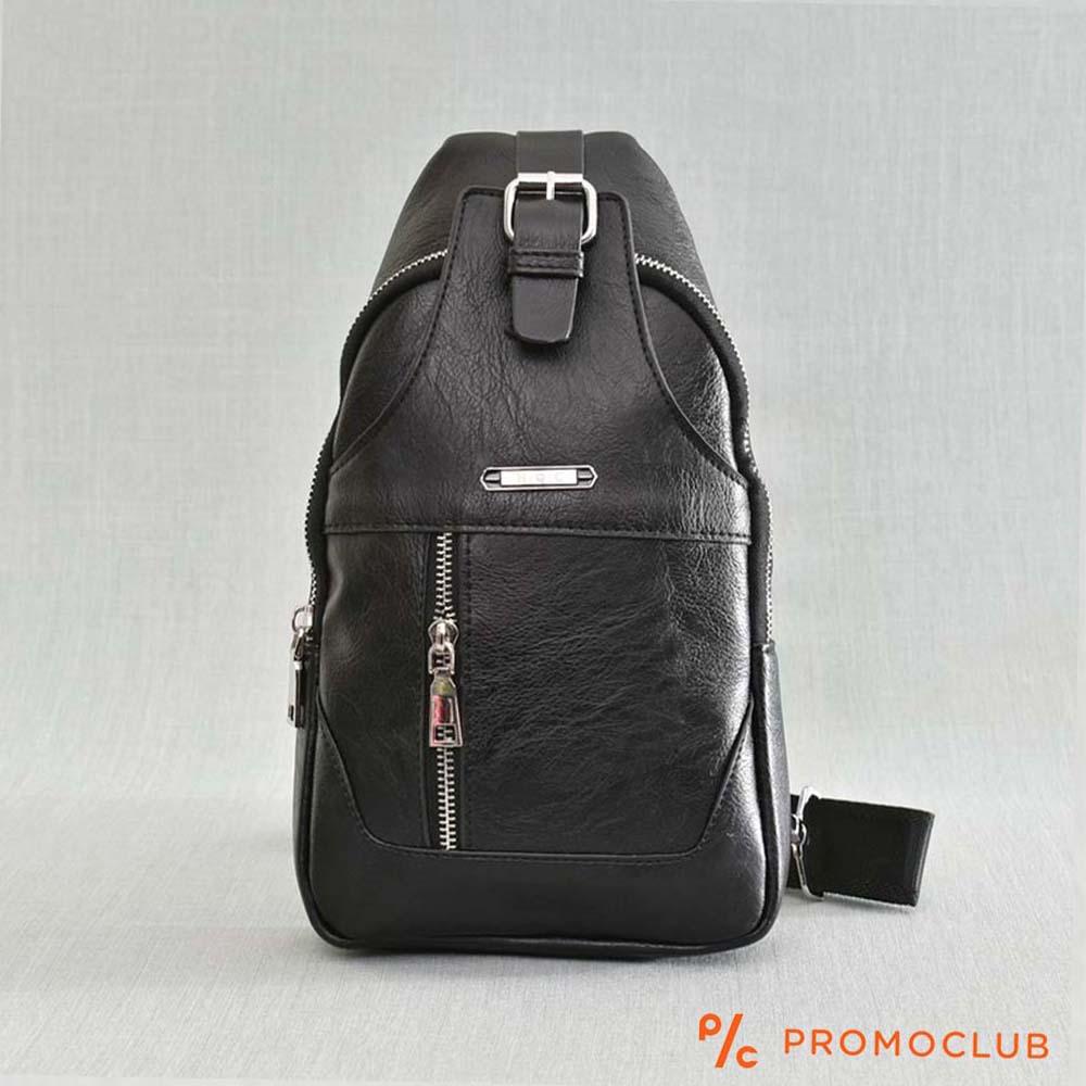 Унисекс кожена чанта HQC 5911 BLACK, еко кожа