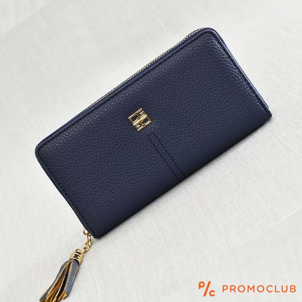 Класически портфейл GEOS 31075 в три цвята, еко кожа