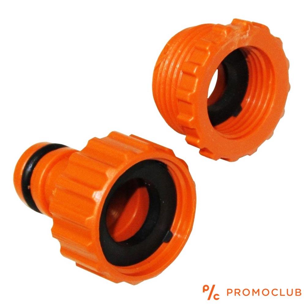 Воден конектор за чешма и бърза връзка, в две части за 1/2 и 3/4 цола